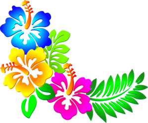 tropical clipart boarder
