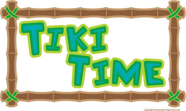 Group with items free. Tiki clipart vector stock