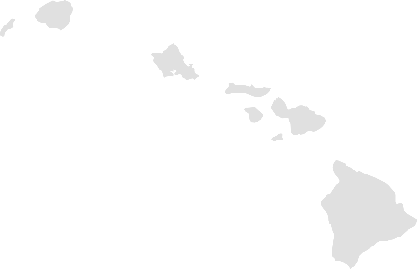 Hawaii Map Transparent Png Clipart Free Download Ya Webdesign