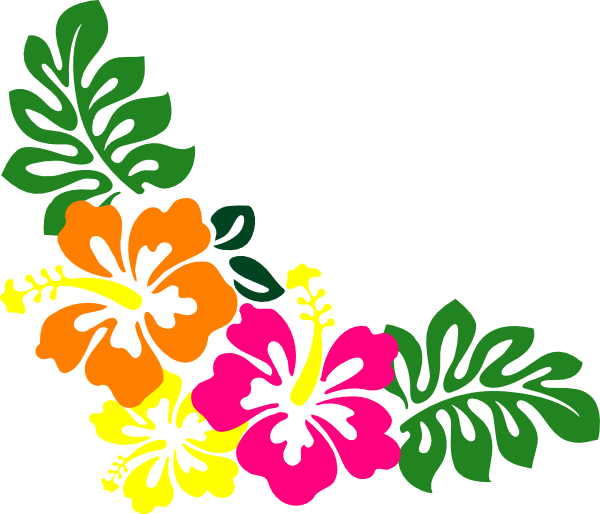 Free hawaiian necklace cliparts. Lei vector graphic