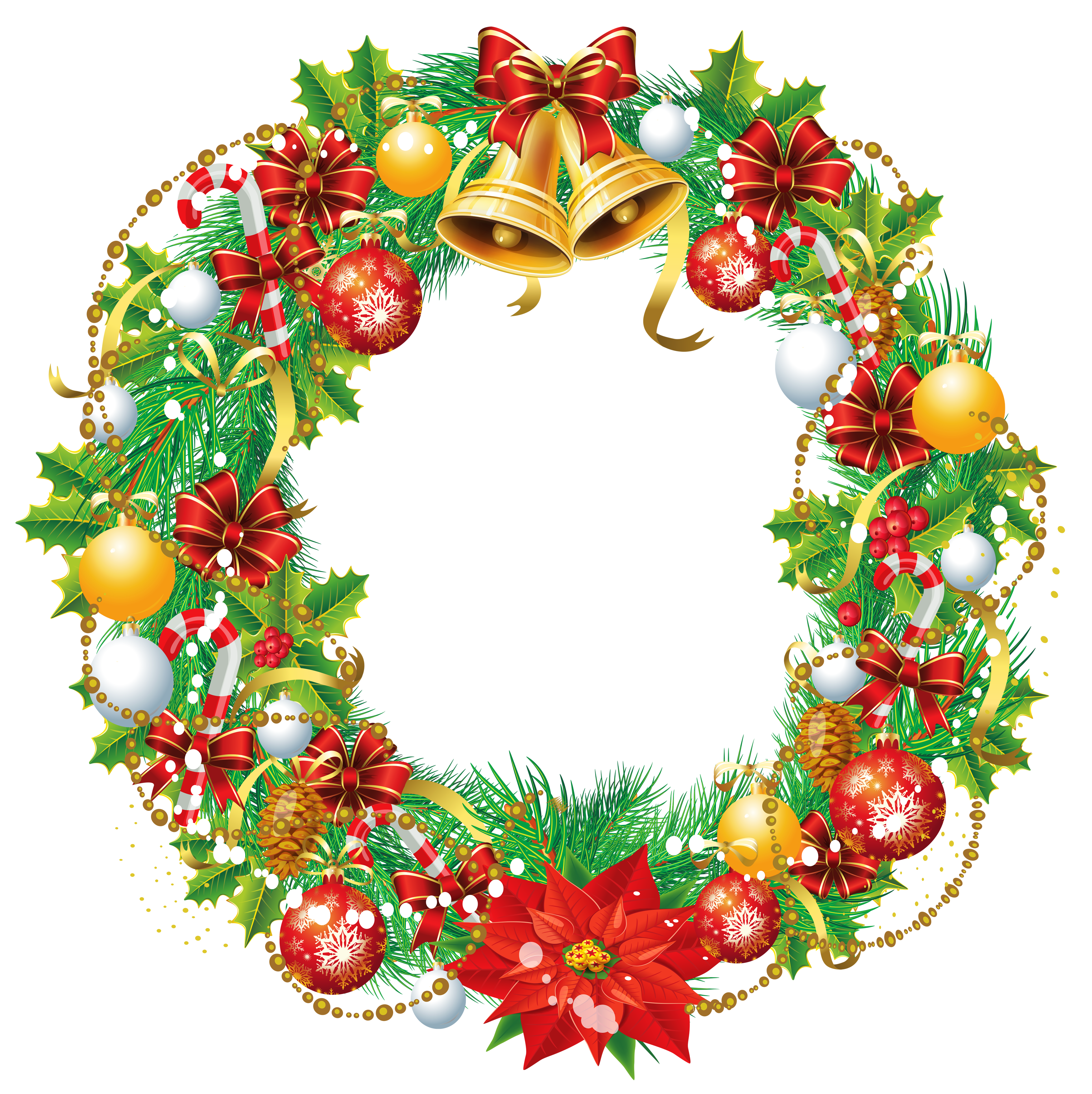 Hawaiian clipart wreath. Transparent christmas png picture