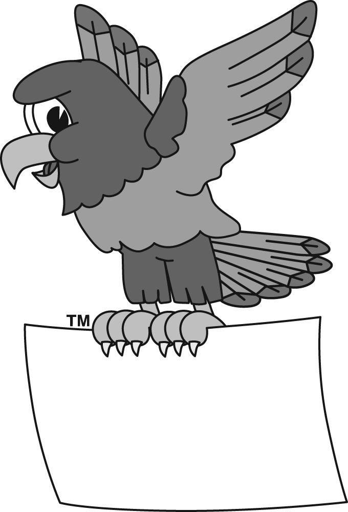 Hawk clipart college. Free images click here