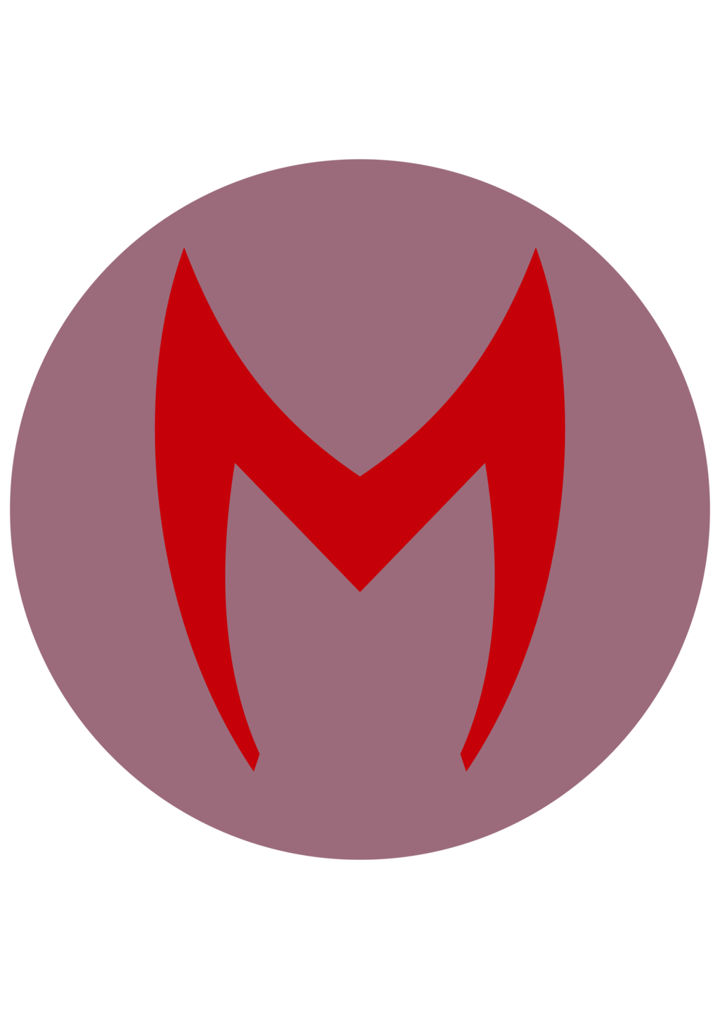 Scarlet witch symbol png