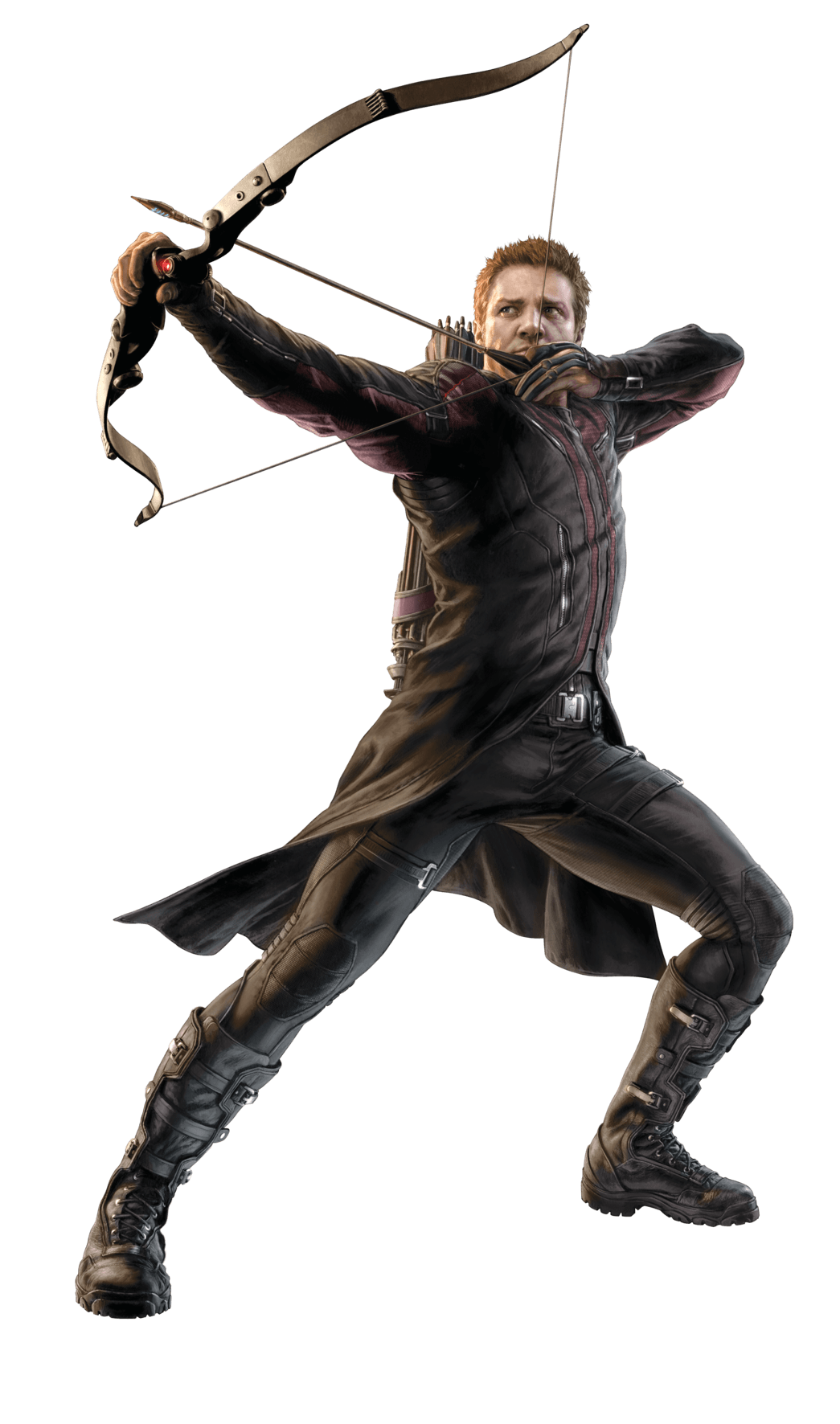 Hawkeye png. To left transparent stickpng