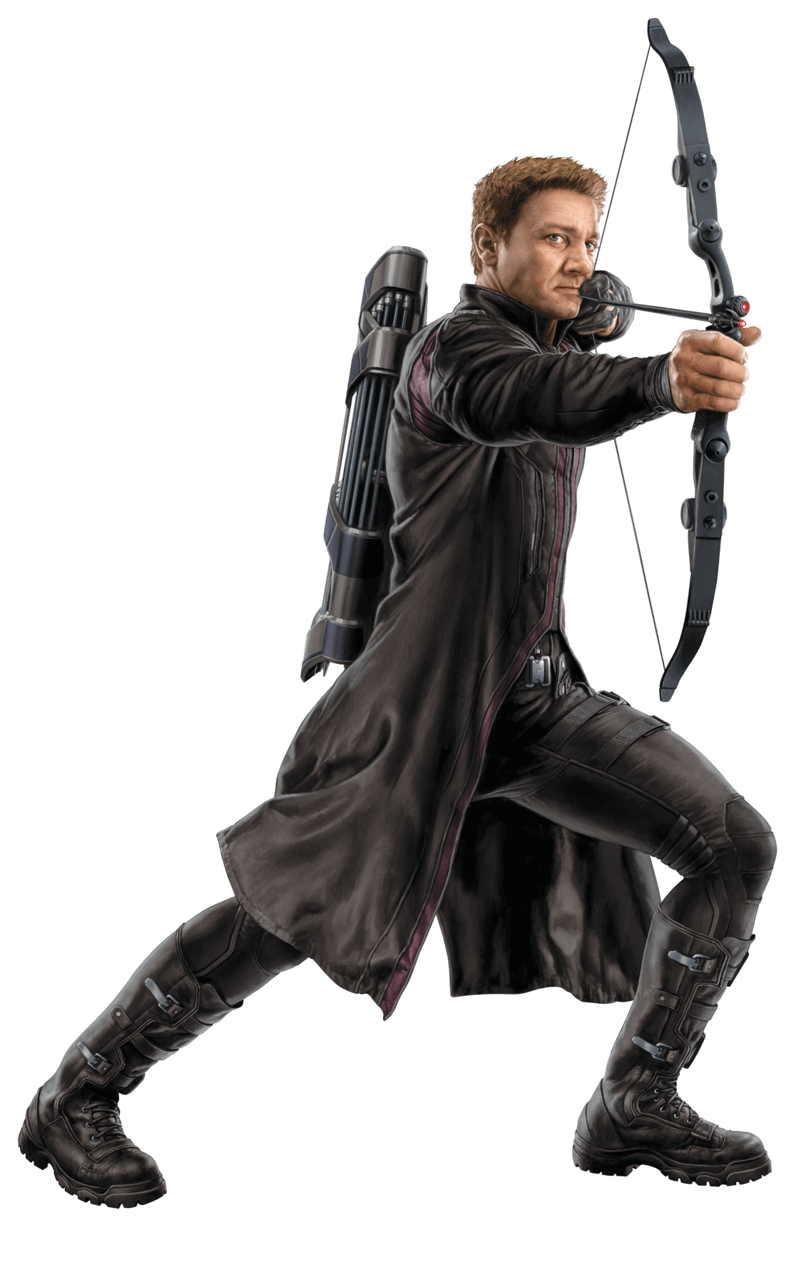 Hawkeye png transparent. Front stickpng