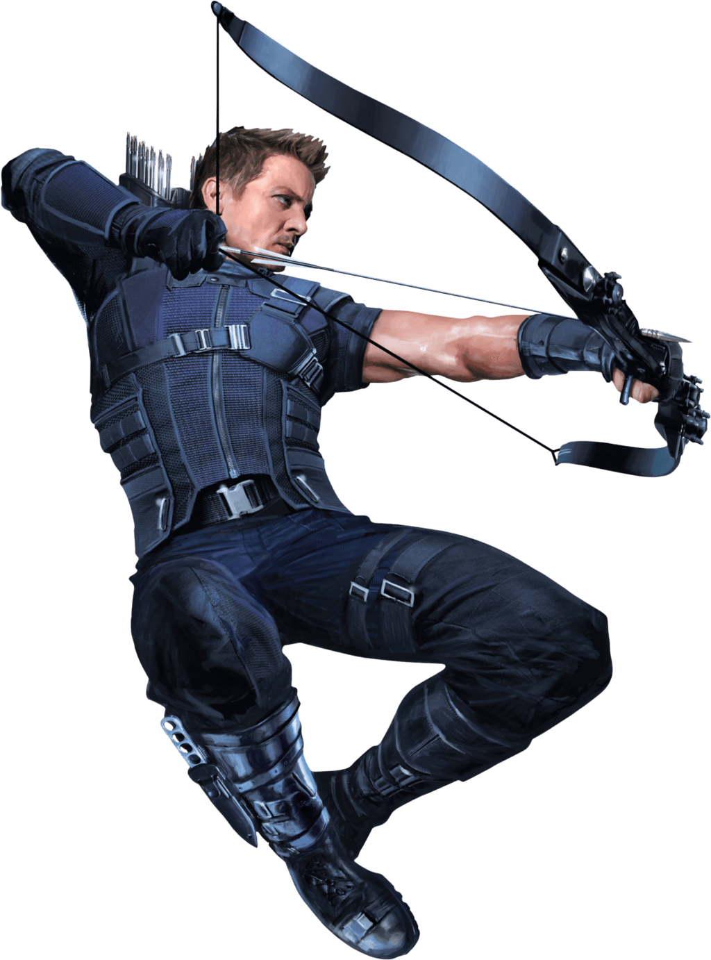 Hawkeye png transparent. Right stickpng