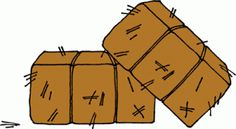 Cartoon hay bale free. Straw clipart cute picture transparent download
