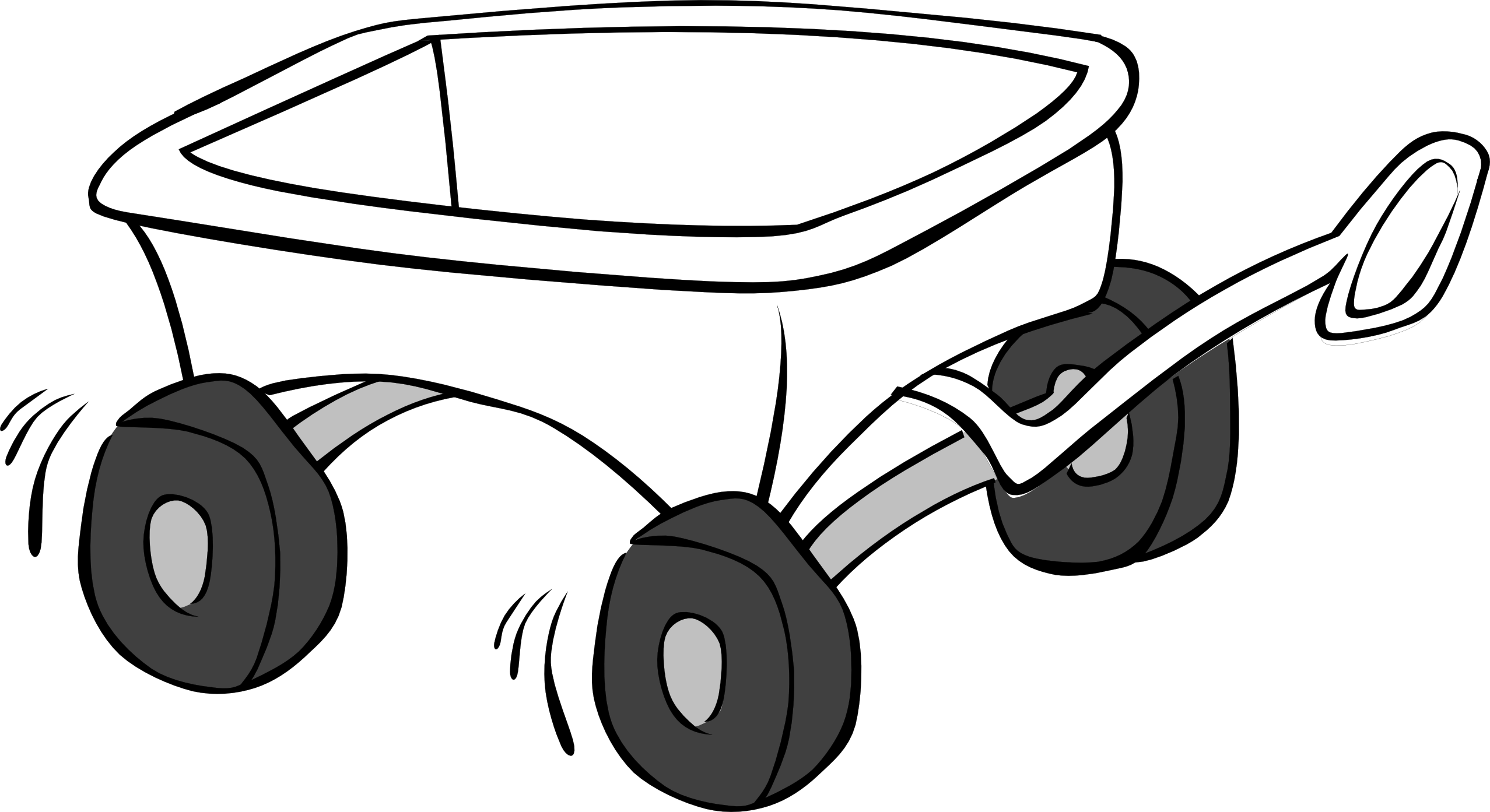 Cart drawing hay wagon. Clipart nest free on