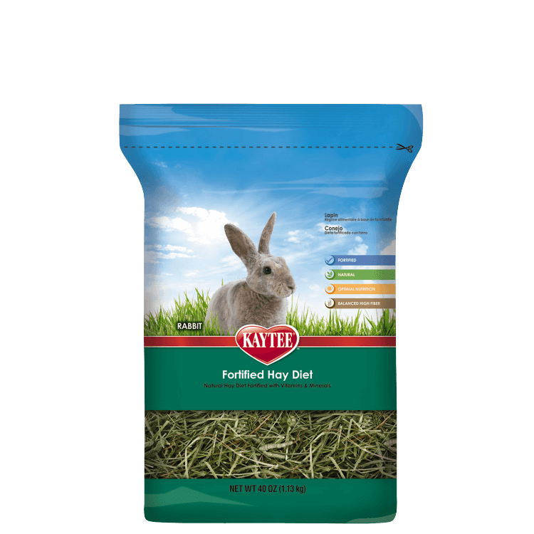 Hay transparent small. Fortified diet for rabbits