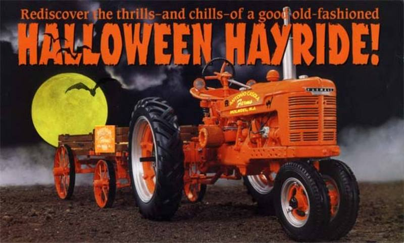 Hayride clipart hay ride. Haunted bull shoals oct