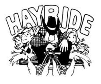 Hayride clipart hay ride. Day farms pumpkin patch