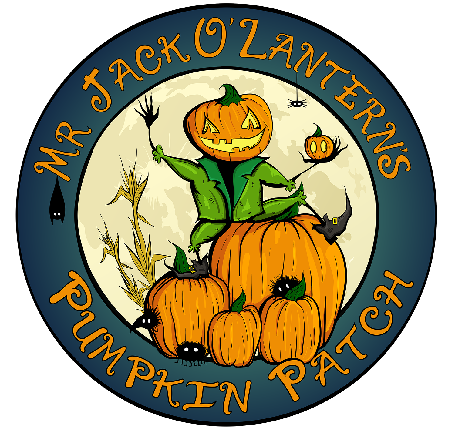 Games prizes and fun. Scary clipart scary pumpkin patch vector royalty free stock