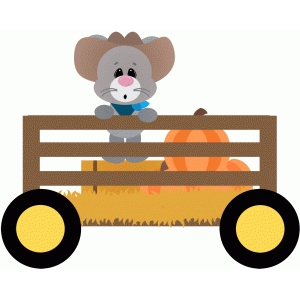 Hayride clipart. Group silhouette design store