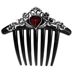 Hc clip hair. Gothic accessories bands clips