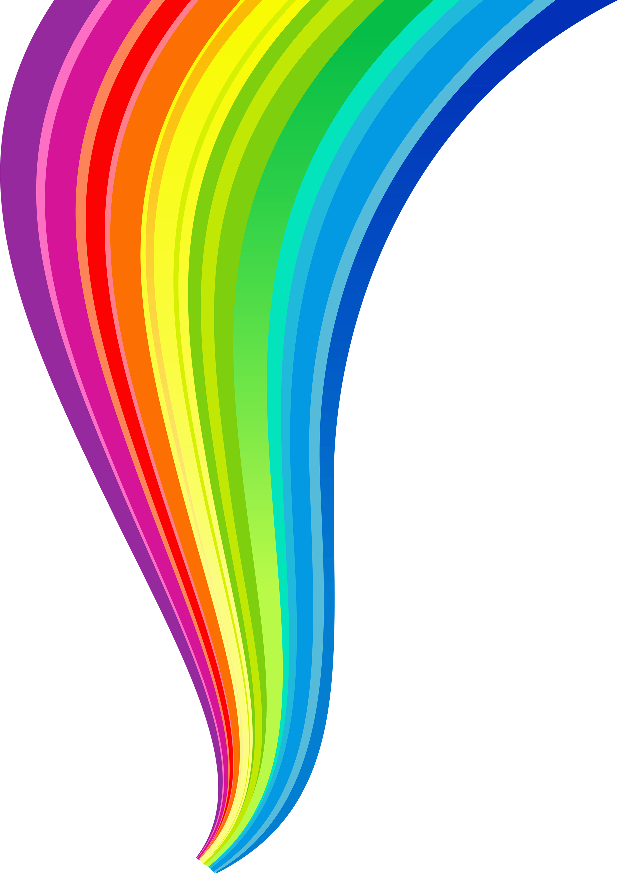 Rainbow line png. Images free download random