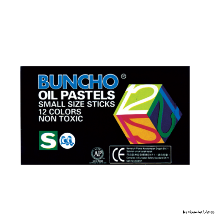 Hd drawing oil pastel. Buncho pastels small size