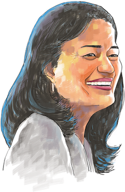 Hd drawing portrait. Download pramila jayapal self