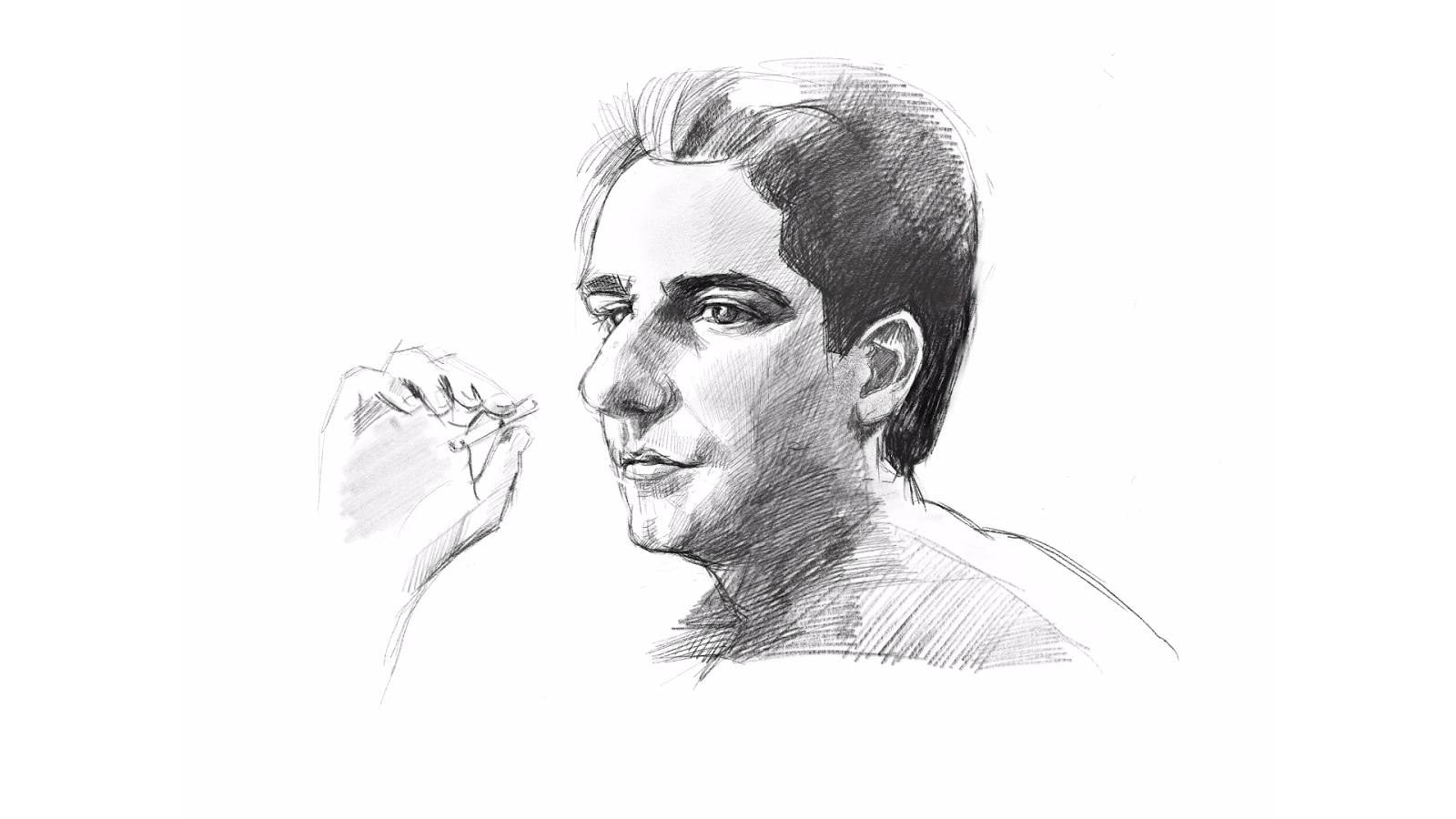 Hd drawing portrait. The hobbyist christopher moltisanti