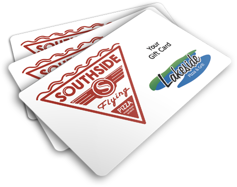 Hd flying cards png. Southside pizza gift click