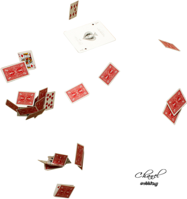 Hd flying cards png. Download psd detail poker