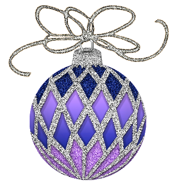 Hd silver and purple christmas ornaments png. Ornament clipart gallery yopriceville
