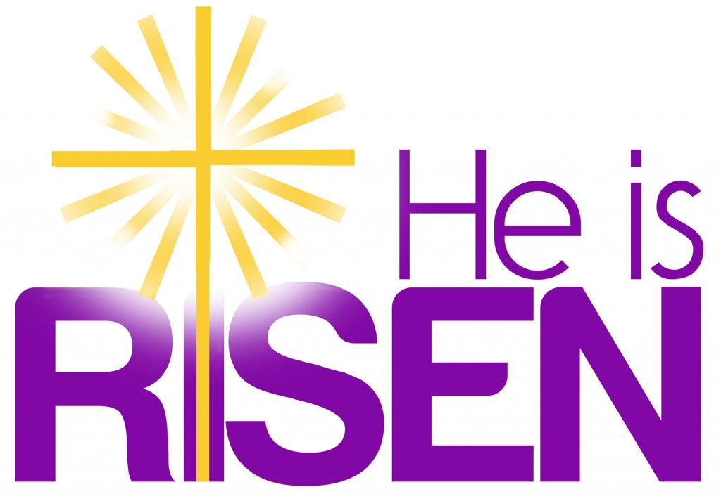 He is risen clipart holy saturday. Week st john lutheran