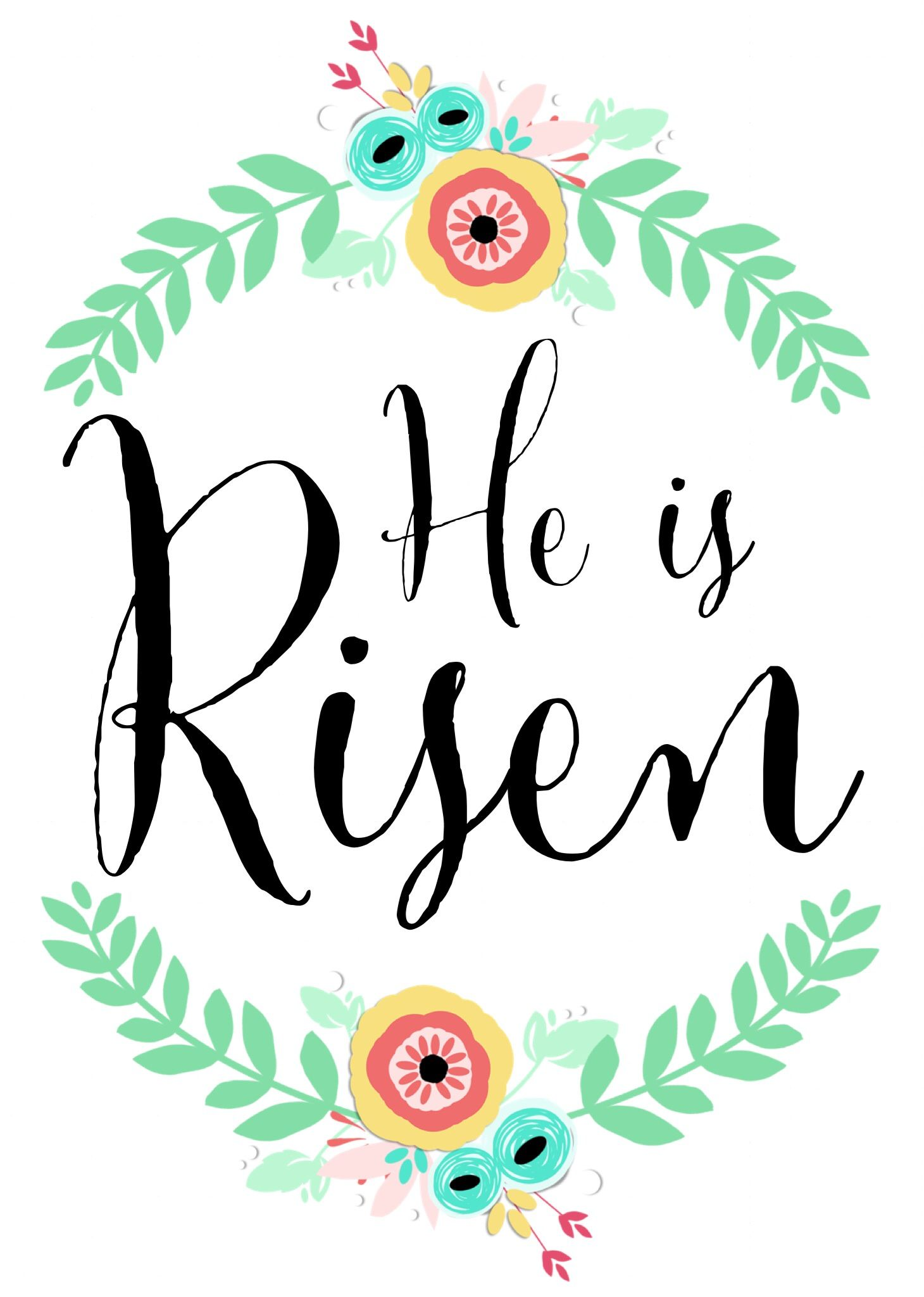 He is risen clipart morning. Free printable x www