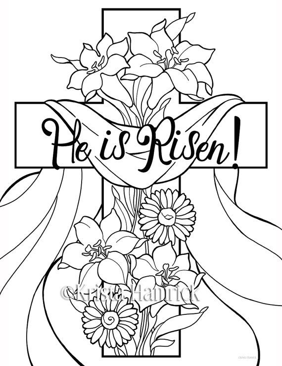 He is risen clipart risen drawing. Appealing coloring pages cilpart