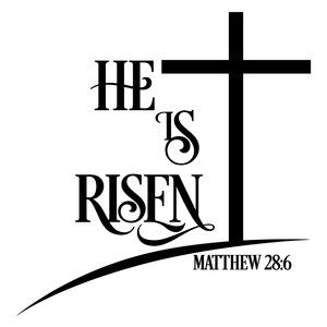 He is risen clipart risen drawing. Silhouette design silhouettes and