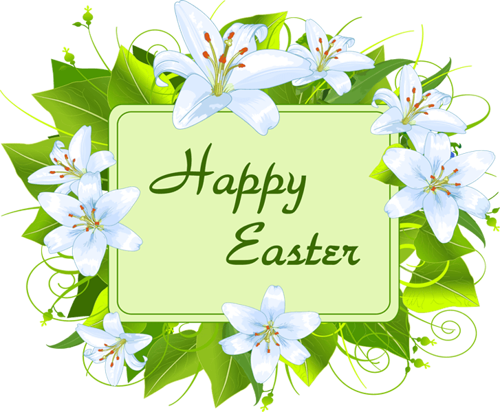 Easter clip flower. Sunday april unity of