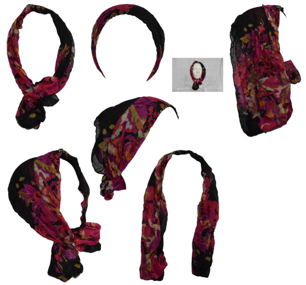 Head scarf png. Stock by mom espeace