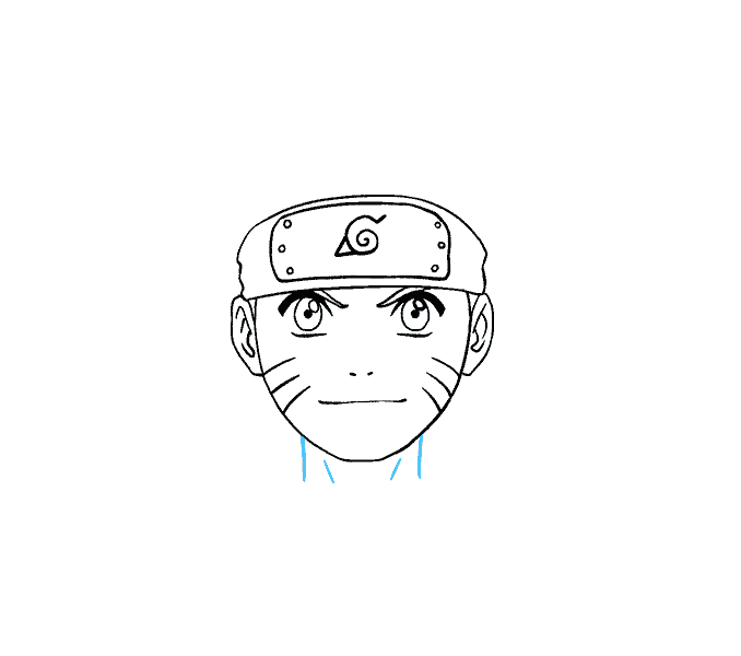 How to draw naruto. Headband drawing leaf svg transparent stock