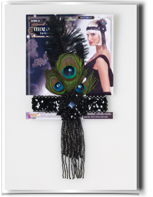 Flappers drawing flapper costume. S costumes headband
