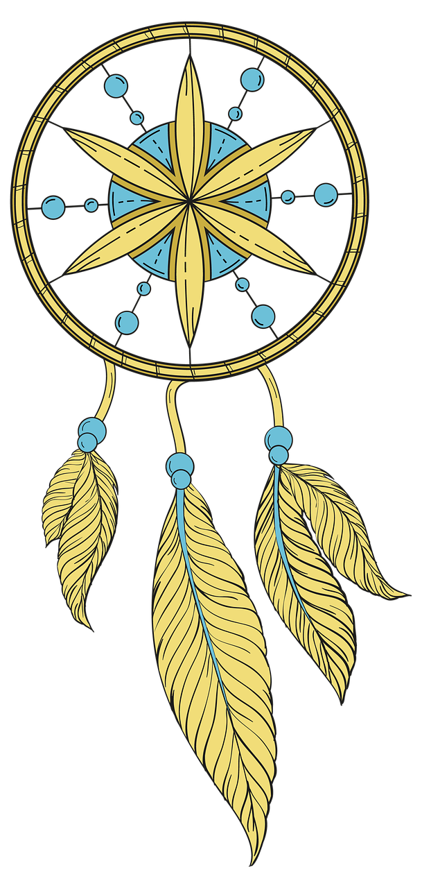 Headdress clipart dream catcher. Jewelry feather indian indians