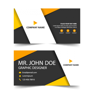 Luxury vector hotel business card