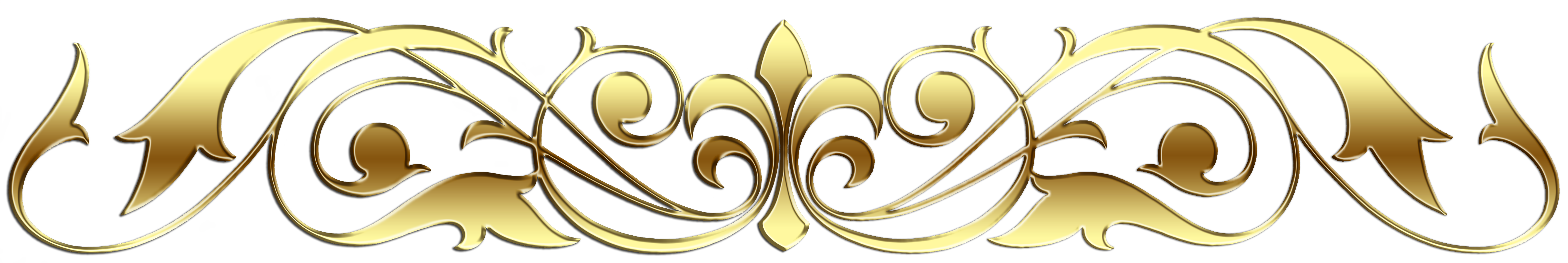 Header vector scroll. Hd finished gold library