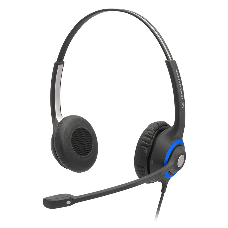 Headphone clipart telephone headset. Sennheiser office headsets corded