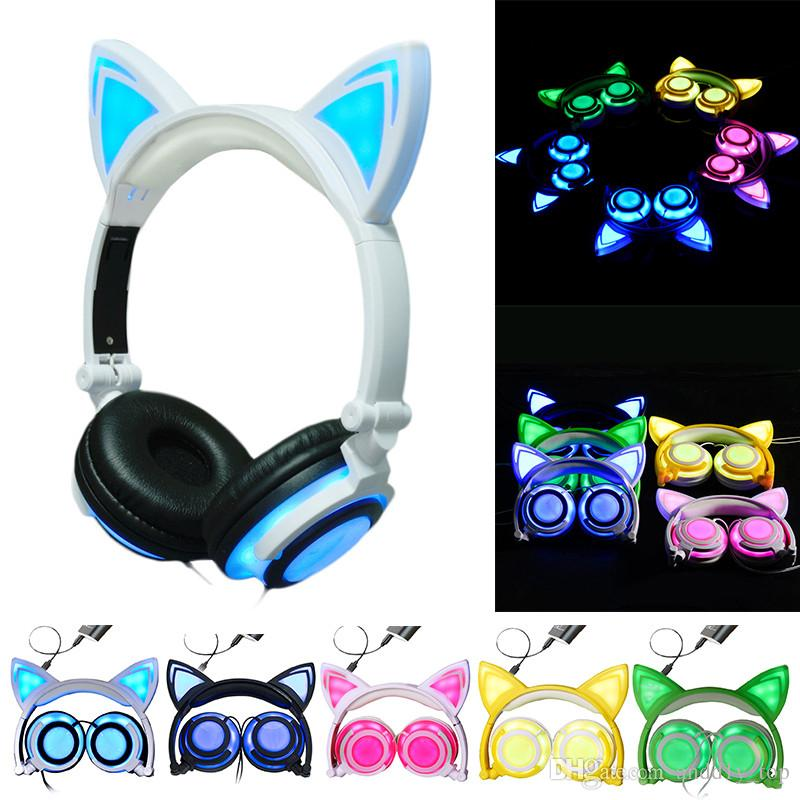 Headphone clipart telephone headset. Cat ear foldable