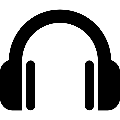 Headphone icon png. Symbol free music icons