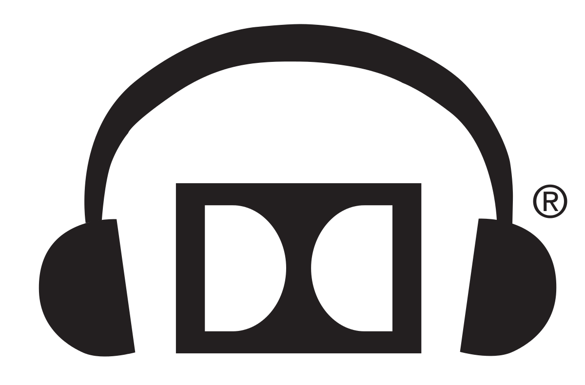 Headphone logo png. Dolby wikipedia