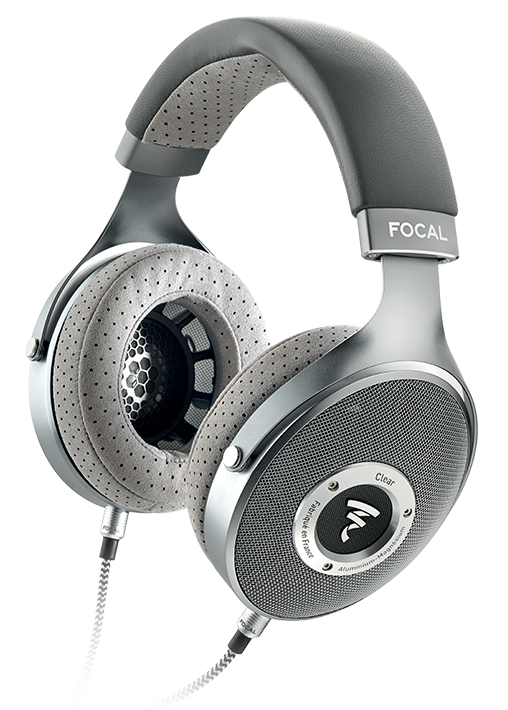 Headphone transparent output device. Focal clear the emotion