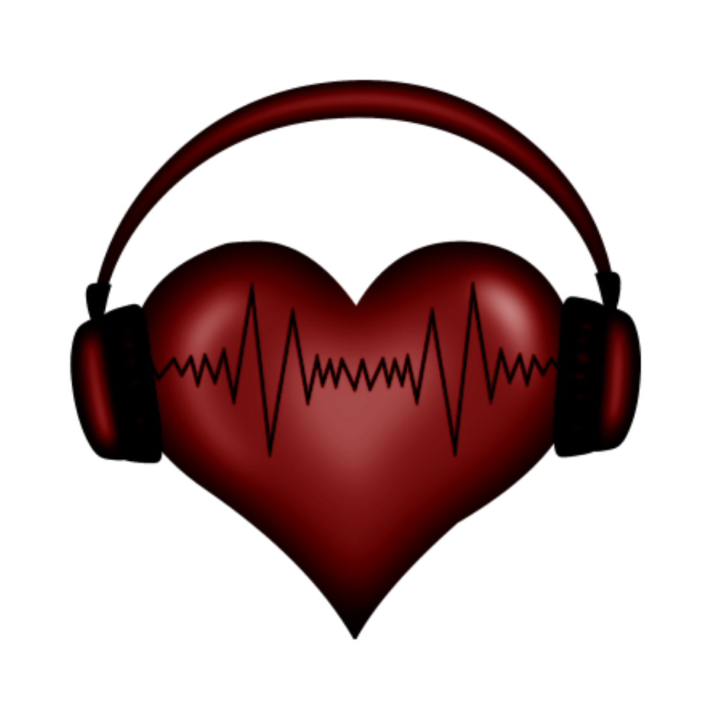 Headphone transparent heart. Freetoedit sticker by nay