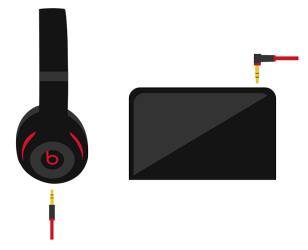 Headphone transparent one side. Sound troubleshooting headphones and