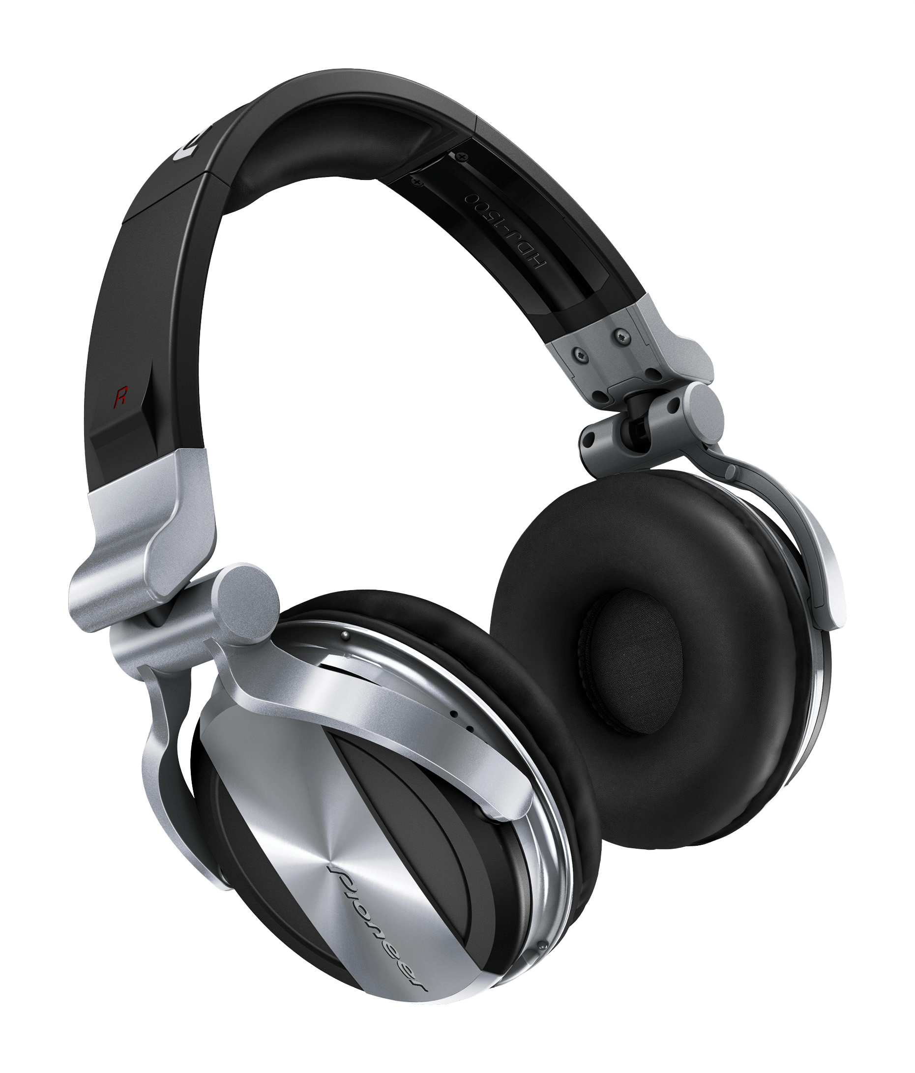 Headphone transparent headset. Pioneer silver headphones png