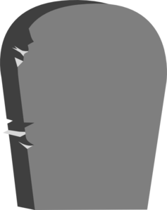 Tombstone clipart. Headstone clip art at