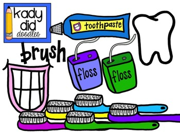Health clipart health subject. Dental kady did doodles