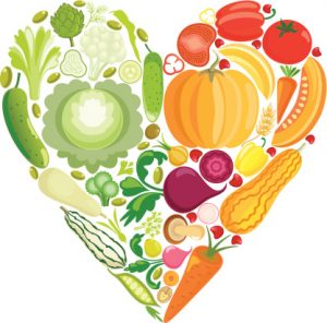 Nutrition clipart. Good megans top heart