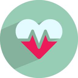 Health icon png. Heart beat medical iconset