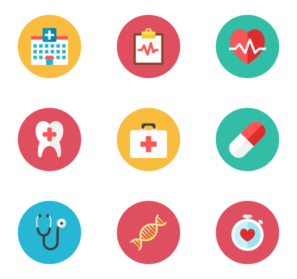 Health icons png. Time premium svg eps