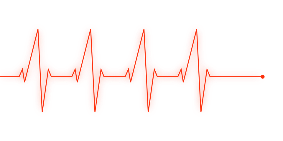 Health transparent heartbeat. Collection of free download